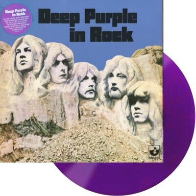 DEEP PURPLE, IN ROCK, COLOURED/RSD LTD., Vinyl LP