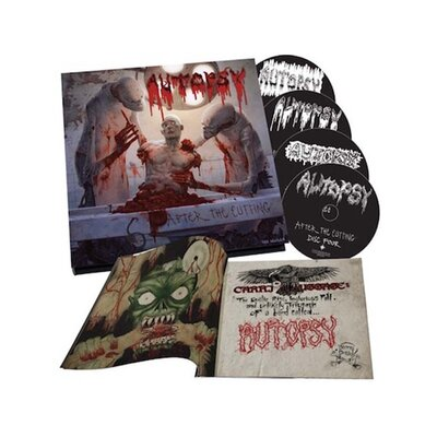 AUTOPSY, AFTER THE CUTTING DELUXE CHRST SALE, 4CD