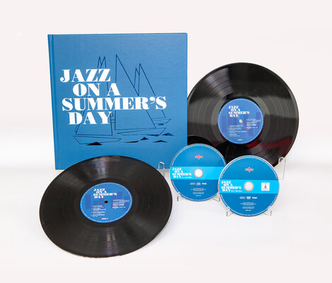 JAZZ ON A SUMMER`S DAY, JAZZ ON A SUMMER`S DAY O.S.T., 2LP+DVD+CD