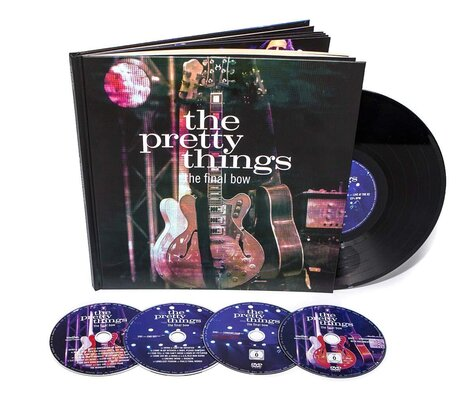 PRETTY THINGS, FINAL BOW DELUXE, 2CD+2DVD+LP