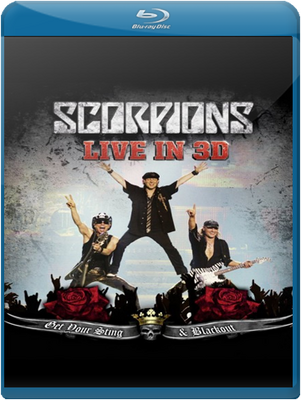 SCORPIONS, Get Your Sting & Blackout-Live In 3D, BLU RAY