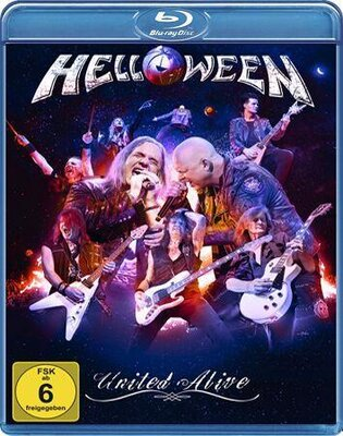 HELLOWEEN, UNITED ALIVE, 2xBLU-RAY