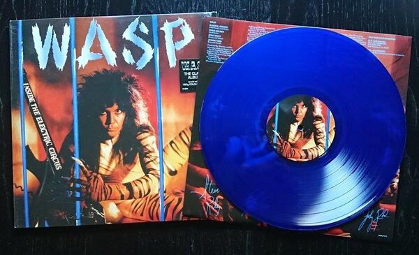 W.A.S.P., INSIDE THE ELECTRIC CIRCUS, COLOURED, Vinyl LP