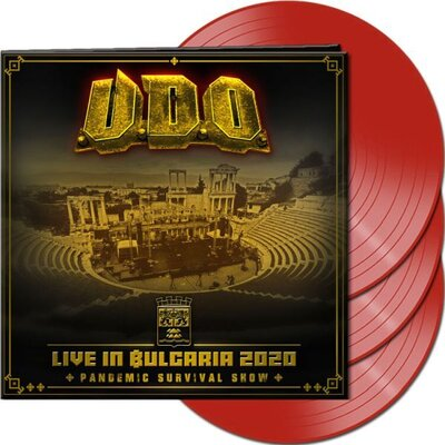 U.D.O., LIVE IN BULGARIA 2020–PANDEMIC SURVIVAL SHOW, Vinyl LP