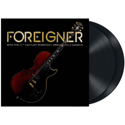 FOREIGNER, WITH THE 21ST CENTURY ORCHESTRA & CHORUS, Vinyl LP