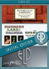 LAKE & PALMER EMERSON, ISLE OF WIGHT/PICTURES/MONTREUX, 3DVD