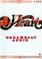 HEART, DREAMBOAT ANNIE-LIVE, DVD