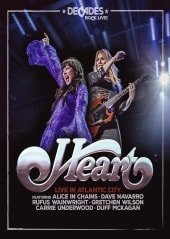 HEART, LIVE IN ATLANTIC CITY, DVD