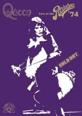 QUEEN, LIVE AT THE RAINBOW, DVD