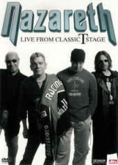 NAZARETH, LIVE FROM CLASSIC T STAGE, DVD