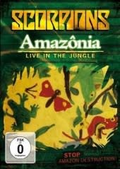 SCORPIONS, AMAZONIA-LIVE IN THE JUNG, DVD
