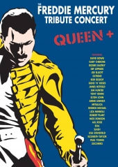 QUEEN, FREDDIE MERCURY TRIBUTE.., 3DVD