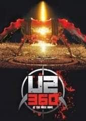 U2, 360 DEGREES TOUR, 4DVD