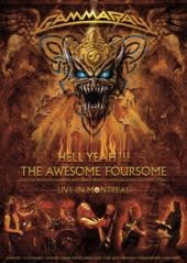 GAMMA RAY, HELL YEAH!!! THE AWESOME FOURSOME, 3DVD