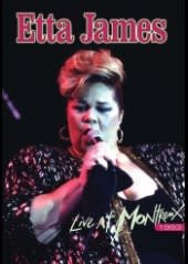 ETTA JAMES, LIVE AT MONTREUX 1993 , DVD