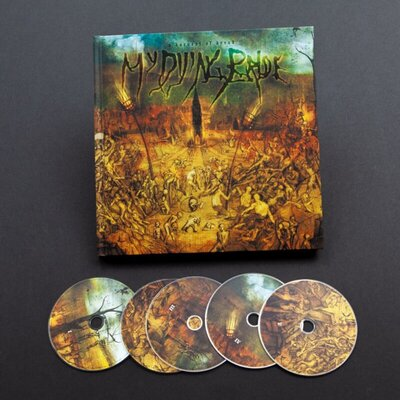 MY DYING BRIDE, HARVEST OF DREAD, 5CD