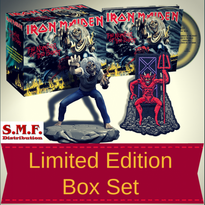 IRON MAIDEN, NUMBER OF THE BEAST LTD BOX SET, CD