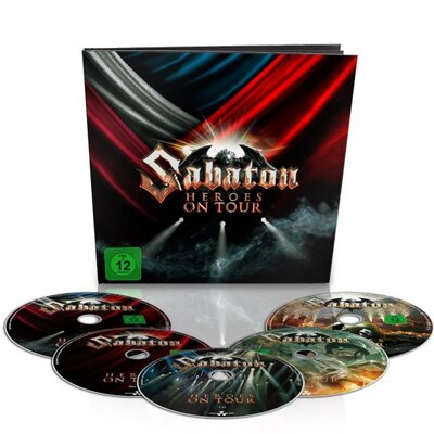 SABATON, HEROES ON TOUR BOX SET, 5CD
