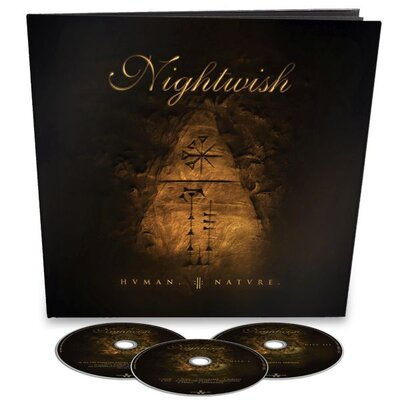 NIGHTWISH, HUMAN. :II: NATURE. lLTD. EARBOOK, 3CD