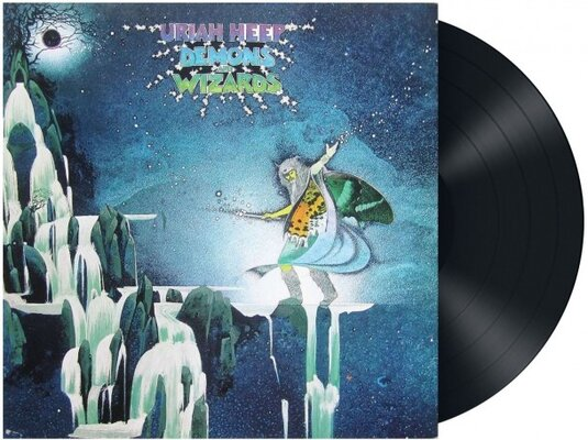 URIAH HEEP, DEMONS AND WIZARDS DELUXE, Vinyl LP