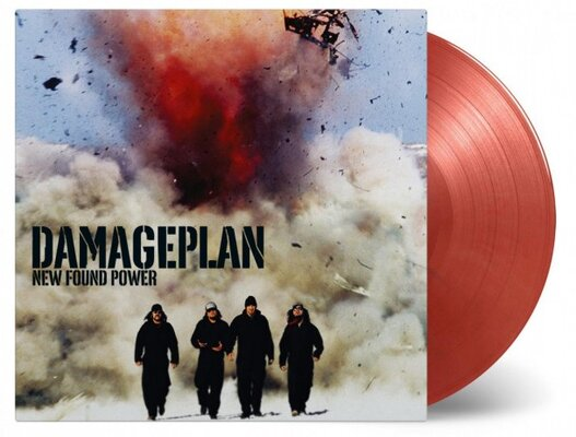 DAMAGEPLAN, NEW FOUND POWER, COLOURED, Vinyl LP