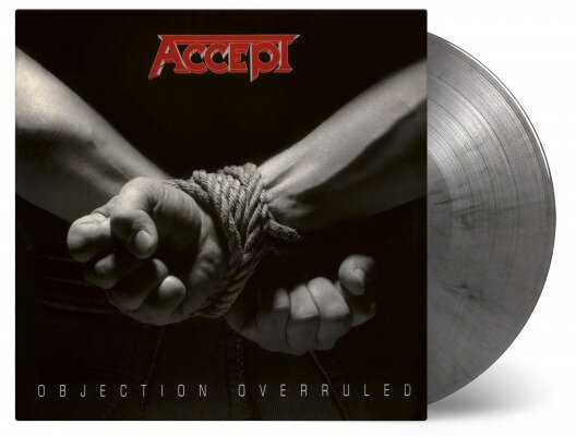 ACCEPT, OBJECTION OVERRULED, Vinyl LP