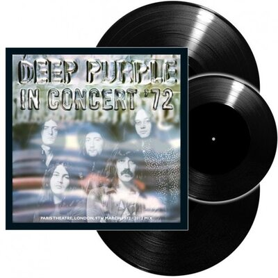 "DEEP PURPLE, LIVE IN CONCERT 72-LP+7"", Vinyl LP"