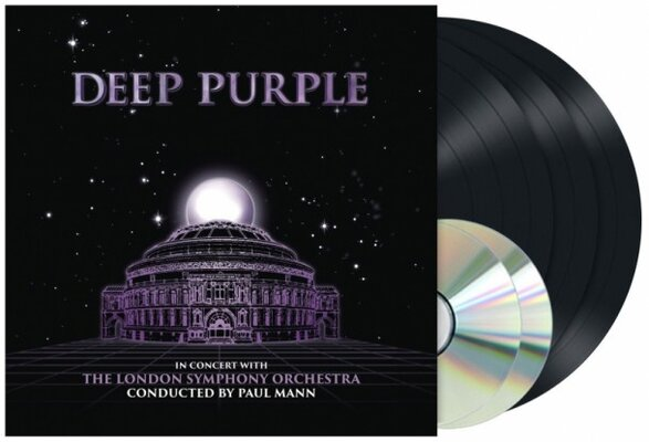 DEEP PURPLE, LIVE AT THE ROYAL ALBERT LTD., Vinyl LP