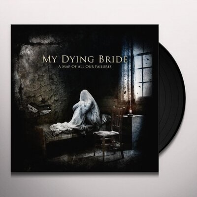 MY DYING BRIDE, A MAP OF ALL.., GATEFOLD, Vinyl LP