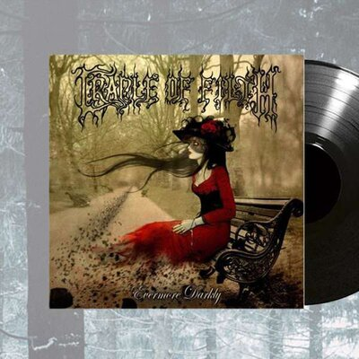 CRADLE OF FILTH, EVERMORE DARKLY, Vinyl LP