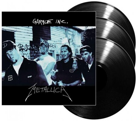 METALLICA, GARAGE INC., Vinyl LP