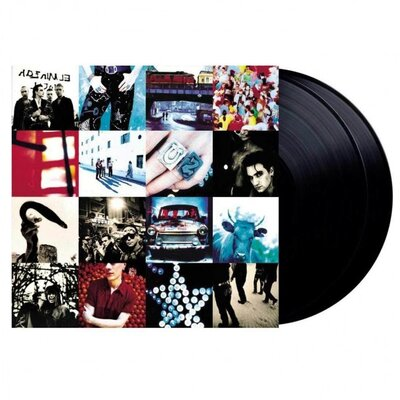 U2, ACHTUNG BABY-DOWNLOAD/HQ, Vinyl LP