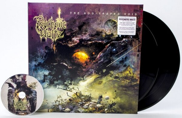 PSYCHOTIC WALTZ, GOD-SHAPED VOID, Vinyl LP
