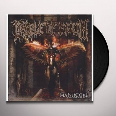 CRADLE OF FILTH, MANTICORE AND OTHER.., Vinyl LP
