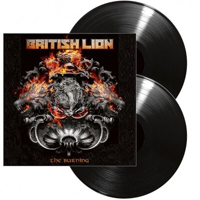 BRITISH LION, BURNING, Vinyl LP