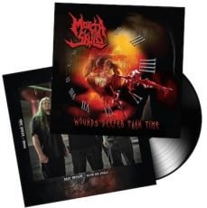 MORTA SKULD, WOUNDS DEEPER THAN TIME, Vinyl LP