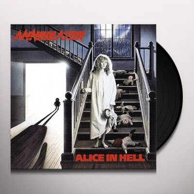 ANNIHILATOR, ALICE IN HELL, Vinyl LP
