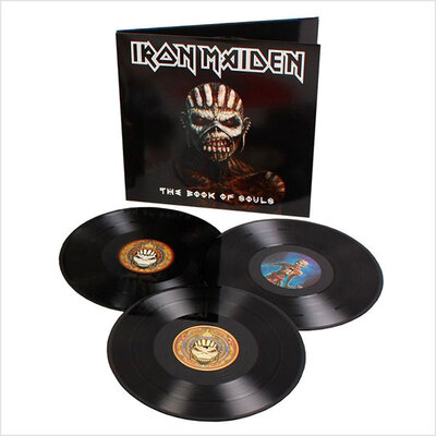 IRON MAIDEN, BOOK OF SOULS, HQ., Vinyl LP