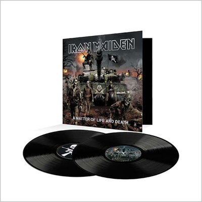 IRON MAIDEN, A MATTER OF LIFE AND DEATH, Vinyl LP