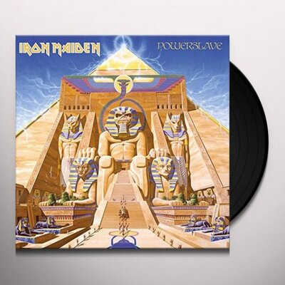 IRON MAIDEN, POWERSLAVE, Vinyl LP