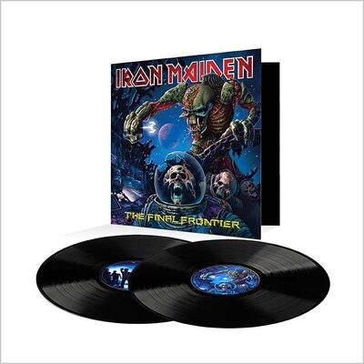 IRON MAIDEN, FINAL FRONTIER, Vinyl LP