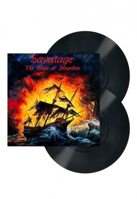 SAVATAGE, WAKE OF MAGELLAN, Vinyl LP