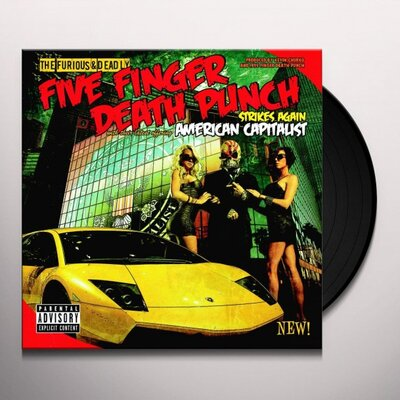 FIVE FINGER DEATH PUNCH, AMERICAN CAPITALIST (USA IMPORT), Vinyl LP