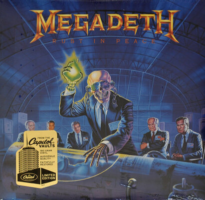 MEGADETH, RUST IN PEACE, Vinyl LP