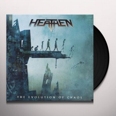 HEATHEN, EVOLUTION OF CHAOS, Vinyl LP