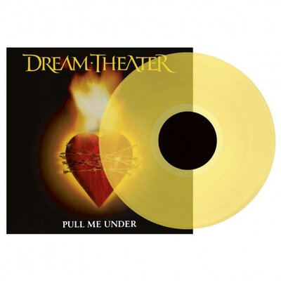 "DREAM THEATER, PULL ME UNDER 12"", LTD., VINYL LP"