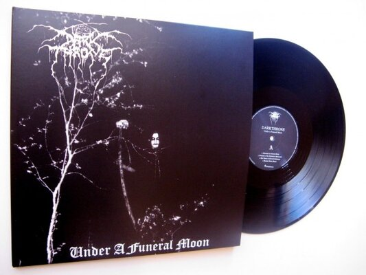 DARKTHRONE, UNDER A FUNERAL MOON, Vinyl LP