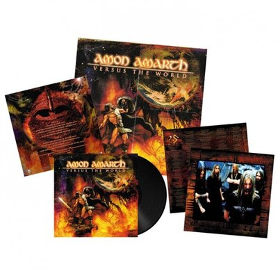 AMON AMARTH, VERSUS THE WORLD, Vinyl LP