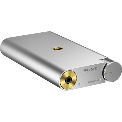 Sony, PHA1A, Portable Hi-Res DAC/Headphone Amplifier, Silver