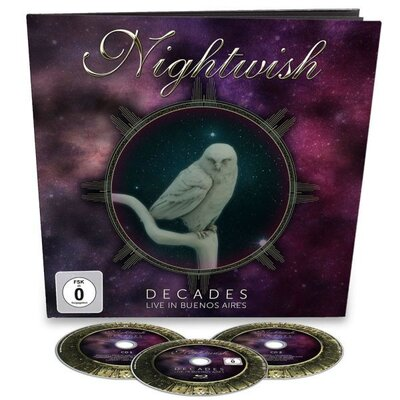 NIGHTWISH, DECADES: LIVE.., BR+CD, BLU-RAY